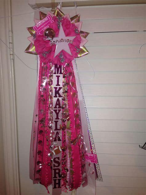 pink homecoming mum    paisley print pink  trendy  year homecoming mums