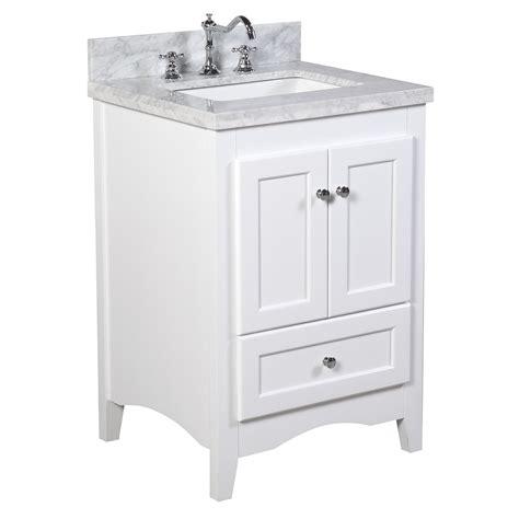 24 Inch Bathroom Vanity by 24 Inch Vanity Carrara White Kitchenbathcollection