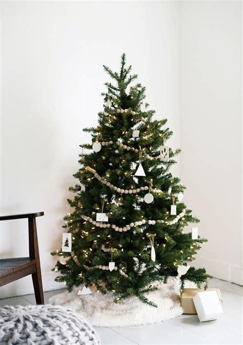 modern christmas trees   inspired   season