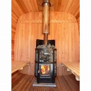 sauna bois exterieur authentique esprit nordique bain With construire un sauna exterieur