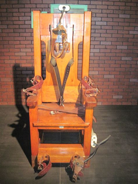 the electric chair the daily bounty