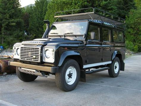 how to sell used cars 1986 land rover range rover electronic valve timing find used 1986 land rover defender 110 tdci csw a c lhd in lions bay british columbia canada