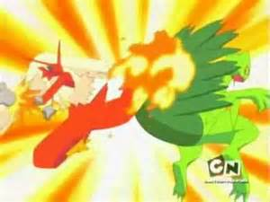Pokemon Sceptile vs Blaziken