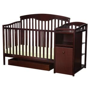 crib and changer combo crib changing table combo thereviewsquad