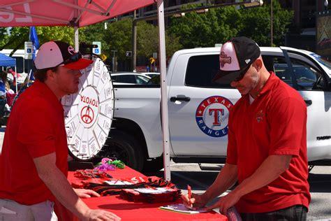 toyota enters multi year deal  texas rangers takes
