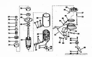 Electric Starting Kit-25 Hp Starter Motor  U0026 Bracket