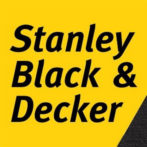 Stanley Black & Decker Youtube