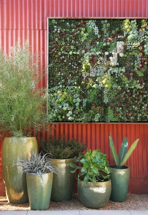 Vertical Succulent Garden Diy by Awesome Organic Minimal Pergola Deck
