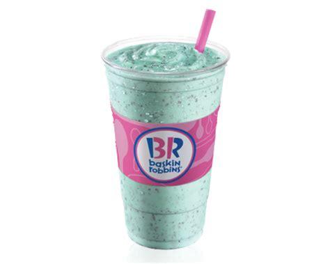 milk shakes baskin robbins canada