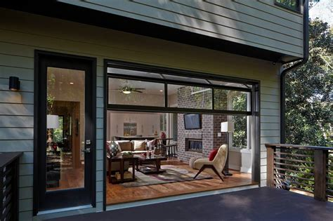 Outside Patio Bar Ideas by Garage Door Styles That Work Indoors Wsj