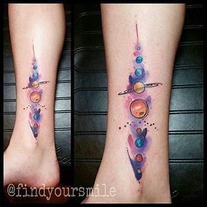 25+ best ideas about Planet Tattoos on Pinterest | Space ...