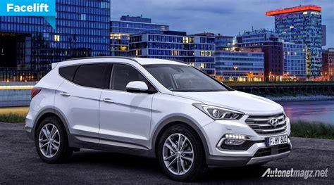 Gambar Mobil Hyundai Santa Fe by Hyundai Santa Fe Facelift Autonetmagz Review Mobil