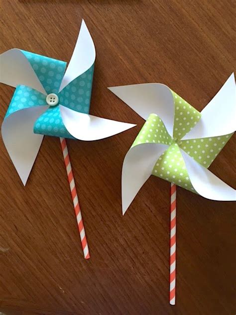 paper pinwheels  diys guide patterns