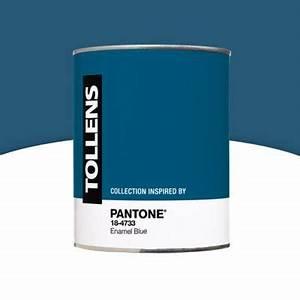 Peinture Bois Exterieur Tollens : peinture murs et boiseries tollens 18 4733 enamel blue ~ Dailycaller-alerts.com Idées de Décoration