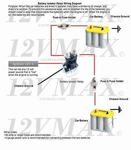 Battery Isolator Relay Wiring Diagram Free Download