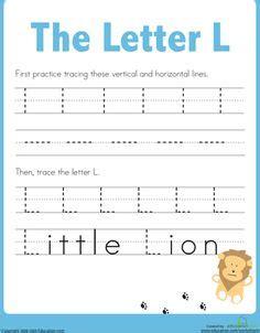 letter  worksheets images preschool letters