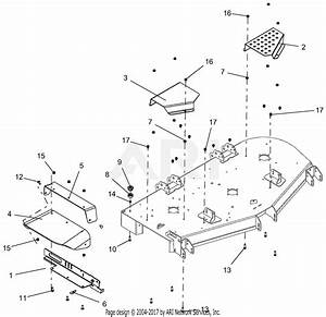 Gravely 991202  040000 -   Pro-turn 60 U0026quot  Parts Diagram For Belt Covers