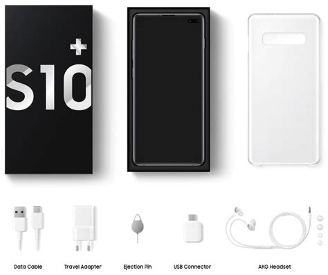 samsung galaxy s10 what s in the box