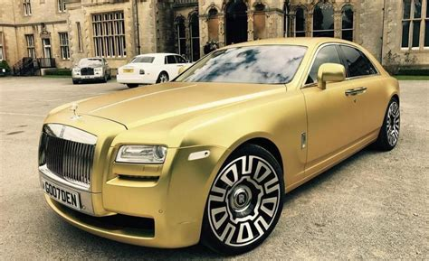 matte rolls royce this matte gold rolls royce can be yours for just 16
