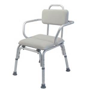 lumex platinum collection deluxe padded bath seat with arms padded shower chairs bath safety