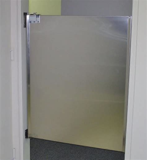 stainless steel doors  stock cafe swing doors