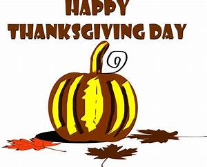 Clipart For Happy Thanksgiving - ClipartXtras