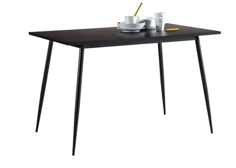 table cuisine noir table de cuisine niko noir
