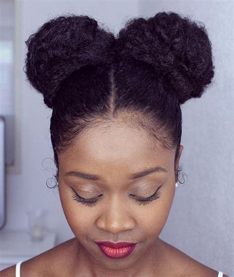 different bun styles for hair 50 best eye catching hairstyles for black 2356