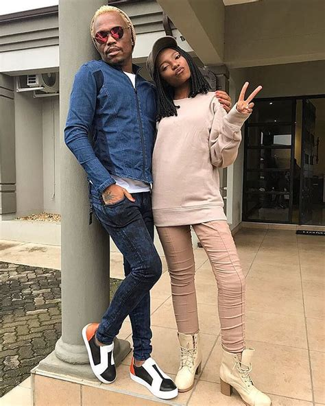 Somizi Mhlongo And Daughter Drone Fest