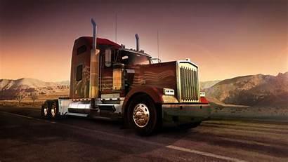 Semi Truck Desktop Wallpapers Pixelstalk