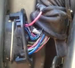 1995 Driver Door Wiring Connector