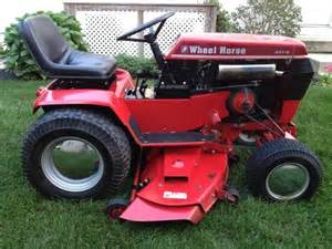 vintage 1986 wheel horse tractor 417 8 w 48 039 039 mower