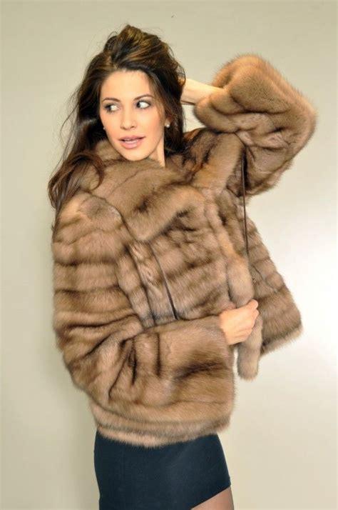 sporty jacket jacket furs russian siberian fur
