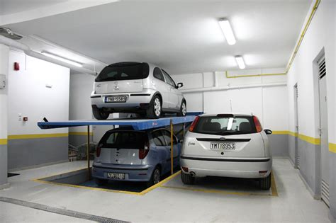 Two-level Mechanical Parking System For 2 (4) Cars With