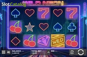 Review of Wild Neon Video Slot from Push Gaming