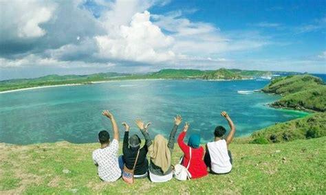 bukit merese lombok pemandangannya menakjubkan