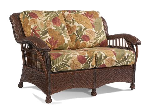 rattan loveseat cushions