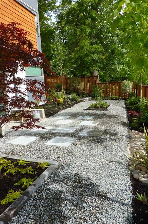 Landscape Design For Small Backyard by 26 Decorative Ideas Of Landscaping With Gravel Home