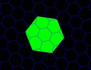 Geometric Visualization Of Hexagonal Hierarchies