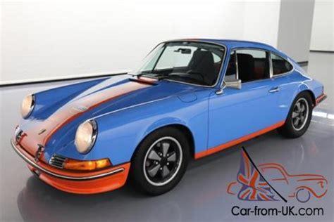 outlaw porsche 911 1971 porsche 911 t gulf outlaw 5 speed recaro seats