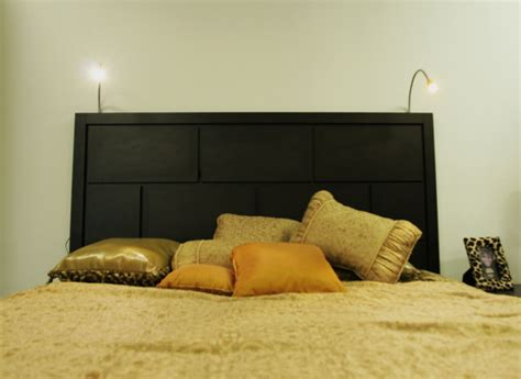 beds with lights in headboard headboard with lights upcycled wooden pallet bed and