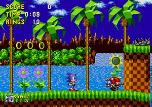 sonic  hedgehoggreen hill strategywiki  video