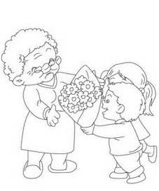 Grandparents Day Coloring Pages for Kids