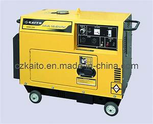 China Silent Diesel Generator - China Air-Coolder Diesel ...