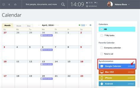 google calendar connect calendar
