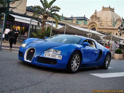 Bugatti Veyron In Blue By Germanexotics On Deviantart