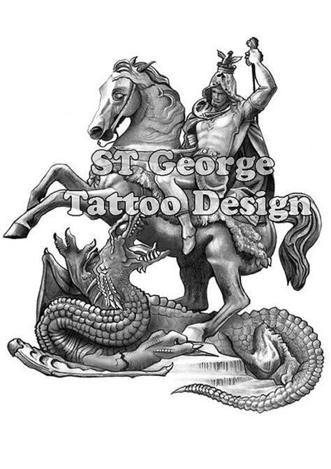 St George Tattoo Design   tattoo sleeve designs