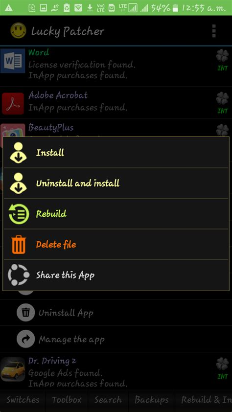 Modified Apk With Lucky Patcher by Lucky Patcher Apk Version For Android 2018