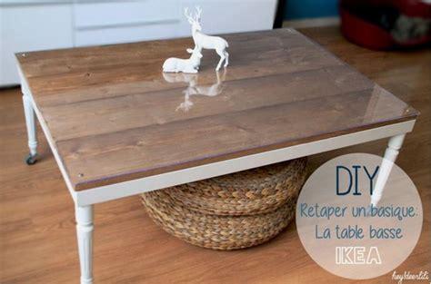 pied table cuisine idées diy 7 façons de customiser une table ikea lack
