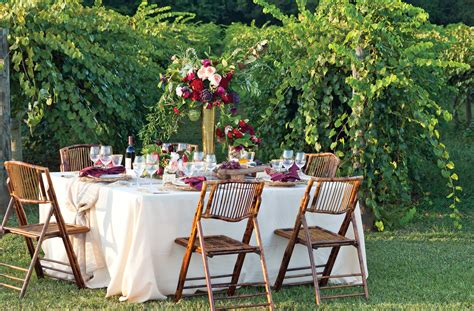 cheap white dining table and chairs outdoor wine tasting